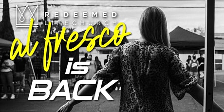 PALM SUNDAY  SERVICE - Al Fresco Redeemed Life Church MARCH 28TH tickets