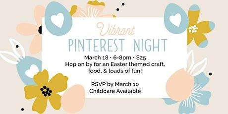 Vibrant Pinterest Night tickets