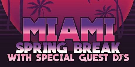 Shots Miami Spring Break 3/31 tickets