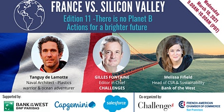 France Vs. Silicon Valley: There is no planet B tickets