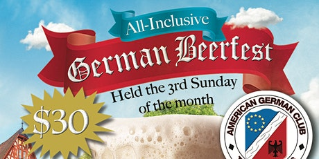 "Monthly German Beerfest ""Under the Pavilion"" tickets"