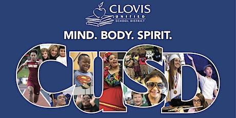 Clovis Unified Teacher Informational Recruitment Fair tickets