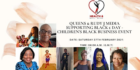 Queens & Rudy J Media supporting Black £ Day - Children's Black Business tickets