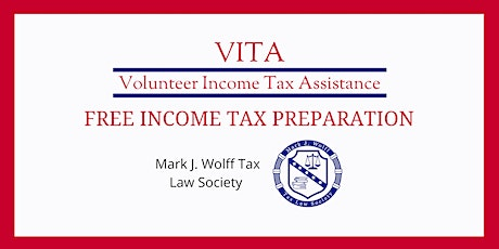 VITA: Free Tax Return Preparation March 13, 2021 tickets