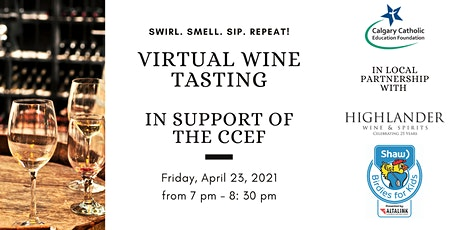 VIRTUAL WINE TASTING - in support of the CCEF tickets