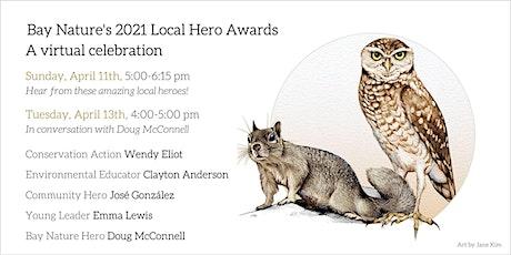 Bay Nature's 2021 Local Hero Awards tickets