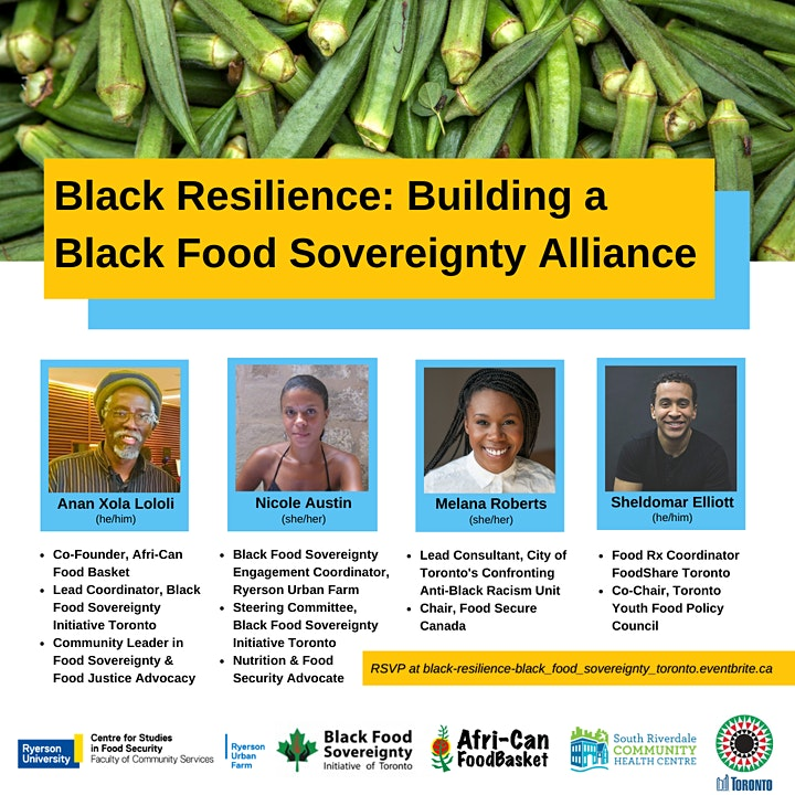 Black Resilience: Building a Black Food Sovereignty Alliance Toronto image