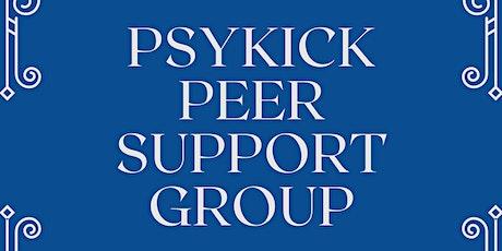 PsyKick Mental Health Peer Support tickets