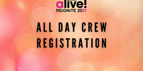 NOOSA alive! All Day - Crew Registration with promo code tickets