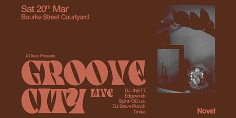 X Disco Presents Groove City (Live) tickets
