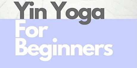 Yin Yoga for Beginners (& everyone!) tickets