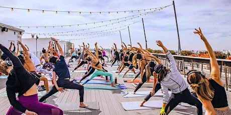 Saturday Vibe Tribe: FREE Rooftop Yoga, Refreshments & Entertainment tickets
