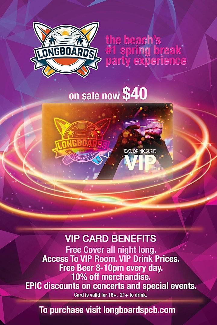 LONGBOARDS VIP CARD 2021 image