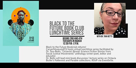 Black to the Future Bookclub-Lunchtime Series tickets