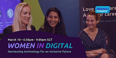 Celebrating Women in Digital: Virtual Panel Event Hosted by Women@Capgemini tickets