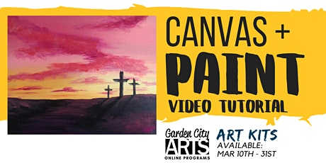 Canvas+Paint - Tutorial & Art Kits (March) tickets