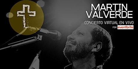 Concierto Virtual MARTÍN VALVERDE boletos