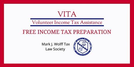 VITA: Free Tax Return Preparation April 10, 2021 tickets