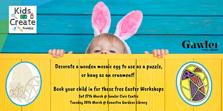 Kids Create: Easter Egg Craft tickets