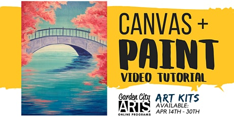 Canvas+Paint - Tutorial & Art Kits (April) tickets