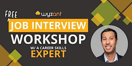 Free Job Interview Workshop w/a Career Skills Expert tickets