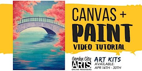 Canvas+Paint - Tutorial & Art Kits (May) tickets