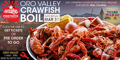 Crawfish Boil Oro Valley tickets