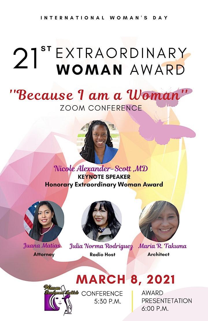 Extraordinary Woman Award image