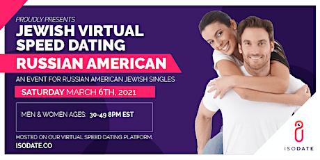 Russian American  Jewish Virtual Speed Dating tickets