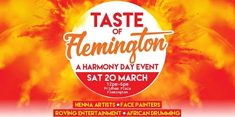 Taste of Flemington (A Harmony Day Event) tickets