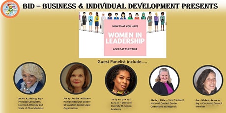 Women in Leadership - Now That You Have a Seat at the Table tickets