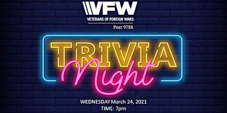 VFW Post 9788-Trivia Night tickets