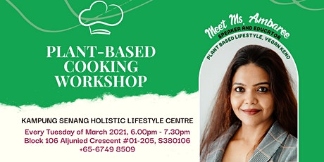 PLANT-BASED COOKING WORKSHOP tickets