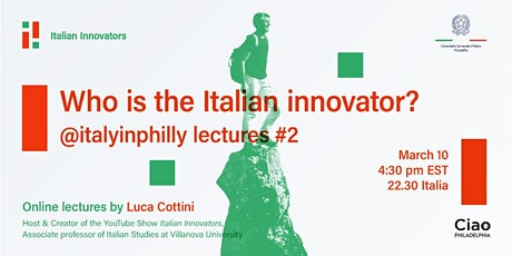 Who is the Italian Innovator? tickets
