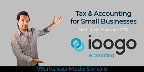 Tax & Accounting for Small Businesses tickets
