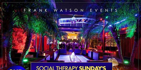 """""""Social Therapy"""" 2 hr Bottomless Brunch tickets"""