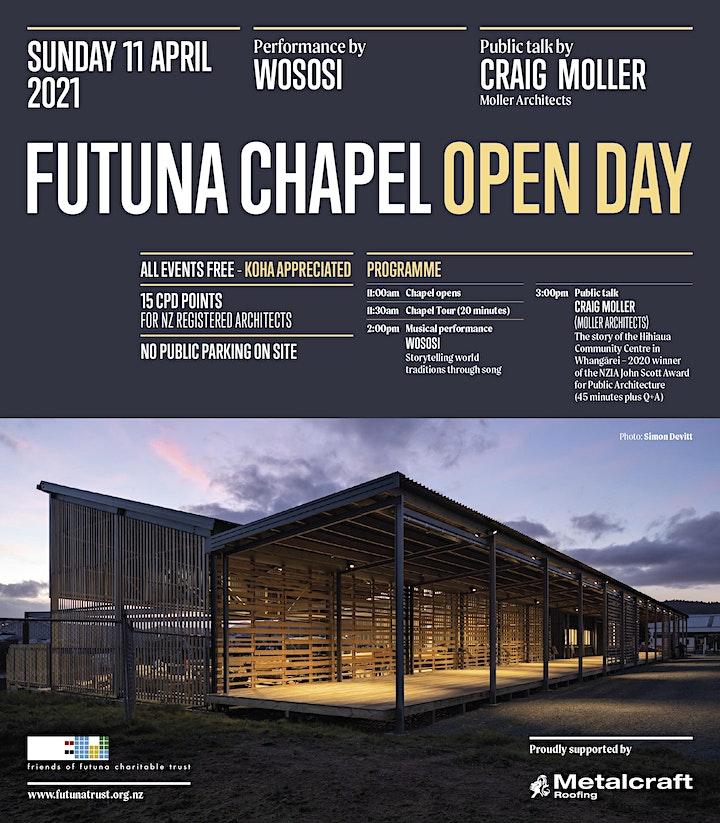 FUTUNA CHAPEL OPEN DAY SUNDAY 11 APRIL 2021 image