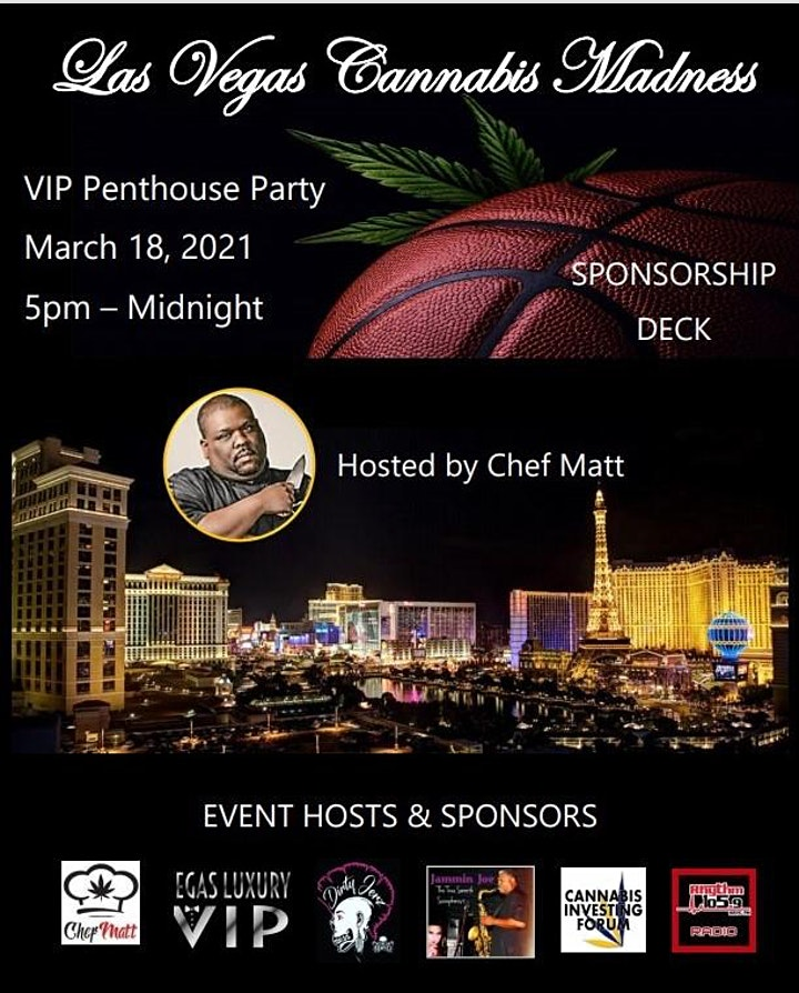 Cannabis Investing Forum Webinar & Las Vegas Cannabis Madness VIP Party image