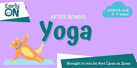 After School Yoga tickets