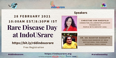 Rare Disease Day at IndoUSrare tickets