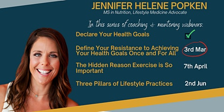 Define Your Resistance to Achieving Your Health Goals Once and For All tickets