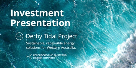 Derby Tidal Energy Investment Webinar with Brian Rourke & Bruce Mitchell tickets