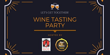 Let's Get Together Virtual Wine Tasting tickets