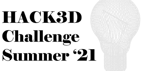 NYU Summer Hack3D  2021 Competition tickets