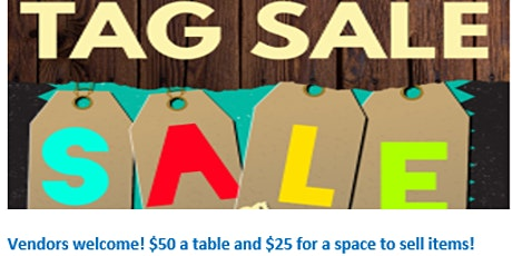 TAG SALE tickets