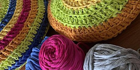 Giant Crochet Cushion tickets