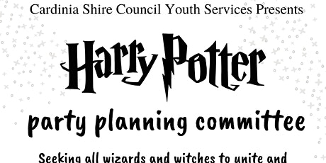 Copy of Harry Potter Party Planning Committe Meeting tickets