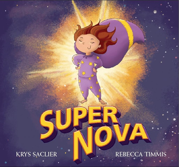 The Book Cow Kids' Story Time in the Square - Krys Saclier and Super Nova image