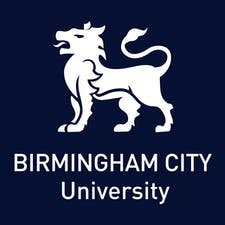 Birmingham City University City Talks logo