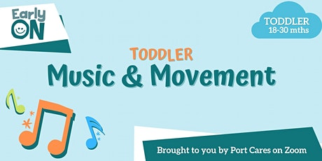 Toddler Music & Movement tickets